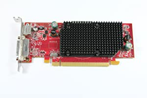 Genuine Dell YP477 ATI Radeon HD 2400 PRO 256MB PCI-E Low Profile Video Graphics Card, Compatible Part Number: XX347