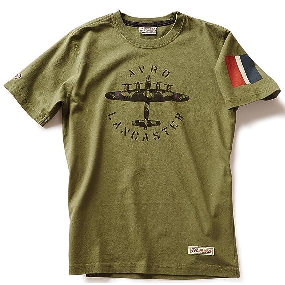 Red canoe avro lancaster t shirt khaki amazon clothing malvernweather Choice Image