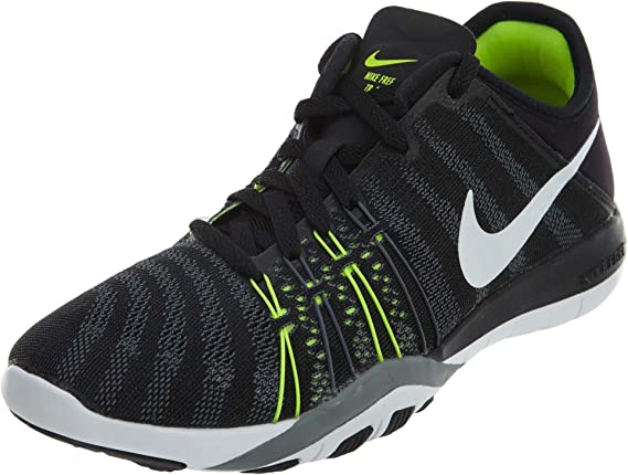 NIKE WMNS Nike Free TR 6 Chaussures de running pour femme Noirblancjaune