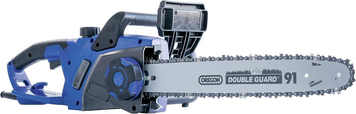 LUX-TOOLS E-KS-2400/40 A - Motosierra eléctrica (2400 W, longitud de corte de 40 cm, protección contra sobrecarga, 230 V, 2400 W, lubricación automática de la cadena): Amazon.es: Bricolaje y herramientas