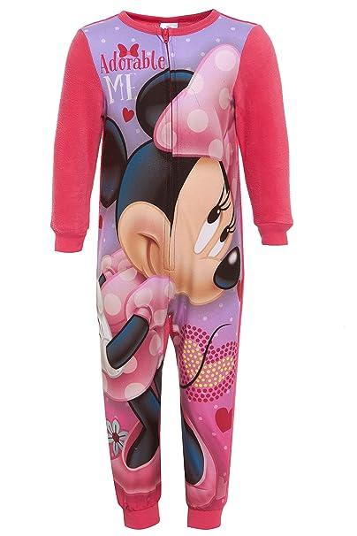 a basso prezzo b4a5b 4f1b9 Generic - Pigiama intero - ragazza Pink Minnie Mouse 2 anni ...