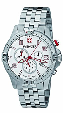 Mens Watches WENGER Squadron Chronograph 77059