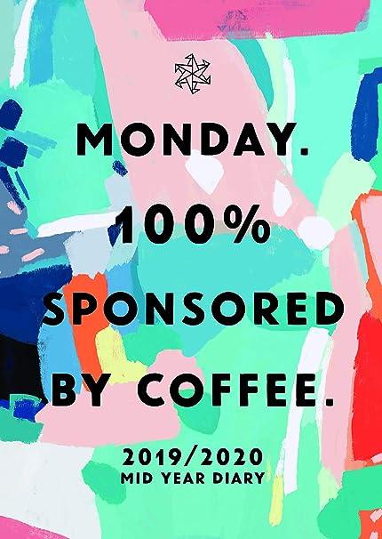 Papel Ninja Lunes. Coffee - Agenda (tamaño A5, año ...