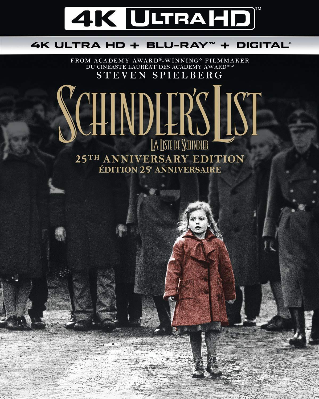 Schindler's List [Blu-ray] (Sous-titres français) Liam Neeson Ben Kingsley Ralph Fiennes Caroline Goodall