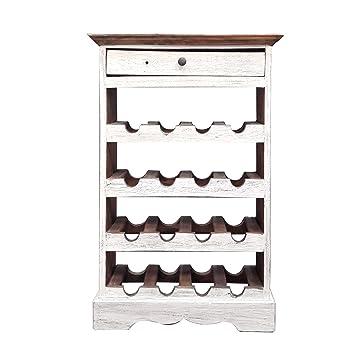 Moebel Kolonie moebel kolonie weinregal holz in shabby recycled wood wine rack