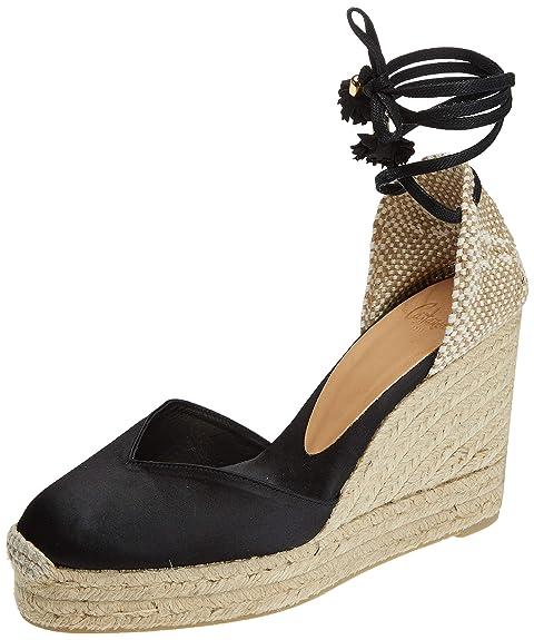 Castañer Chiara/8Ed/Fw18006, Alpargatas para Mujer, (Negro 100), 37 EU: Amazon.es: Zapatos y complementos