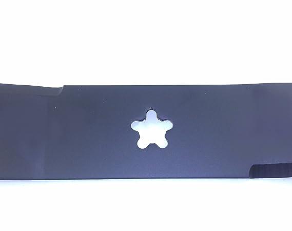 Hoja izquierda 5, diseño de estrellas para Tractor cortacésped ...
