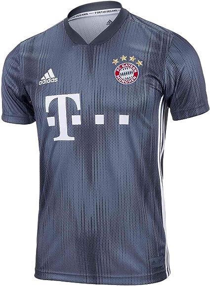 Amazon Com Adidas Bayern Munich Men S Third Soccer Jersey 2018 19 Clothing