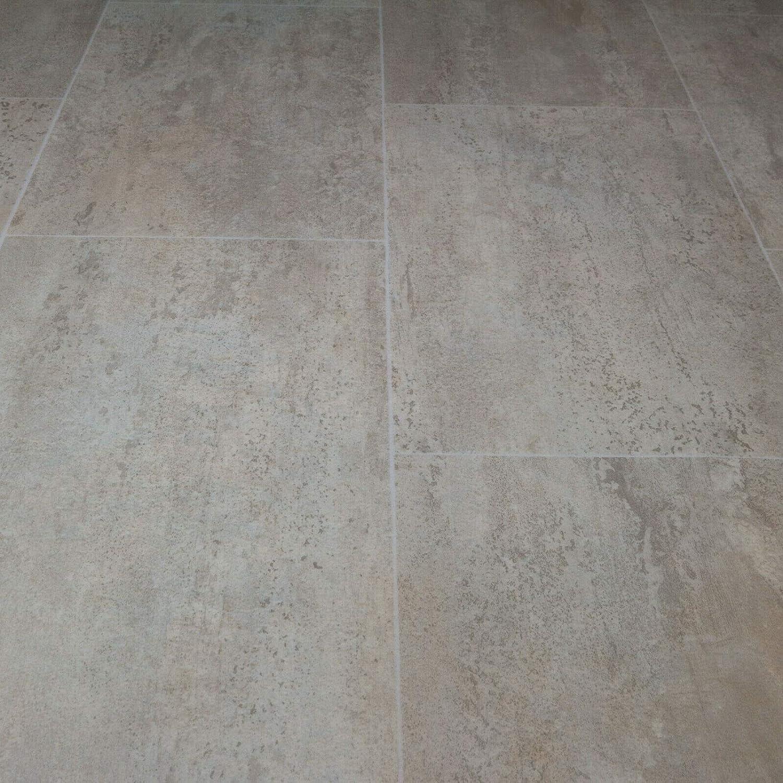 9,90 /€ p. m/² PVC Bodenbelag Tarkett 150 Fliese Gris Melbourne Breite: 200 cm x L/änge: 500 cm