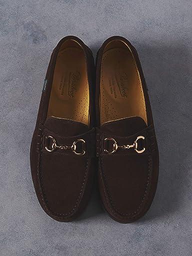 Suede Bit Loafers 1331-499-8060: Dark Brown