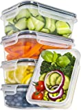 Fullstar Food Storage Containers 5 Pack Tableware 25 Ounce Clear