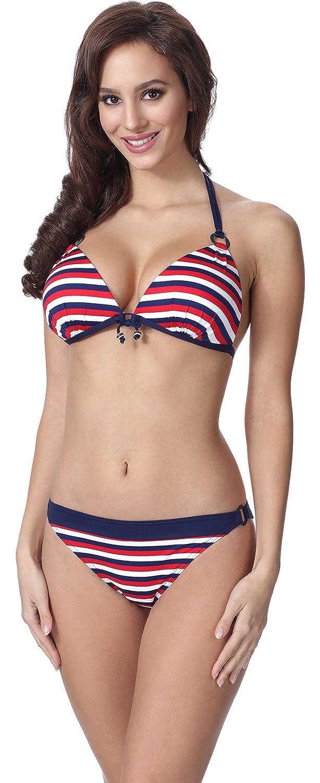 Feba Damen Push up Bikini F17 delikat