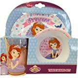 Disney Sofia the First, 3 piece tableware set