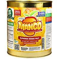 Keynote Alphonso Mango Pulp (All Natural with 97% Fruit Pulp) 3 kg