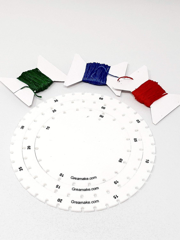 Kit De Arte De Cuerda Grea Juego De 3 Marcos Con Cuerdas Kit De Actividad Matematica Kit De Bricolaje Amazon Es Juguetes Y Juegos