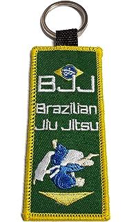 Karate Gürtelstück JuSports Schlüsselanhänger Gürtel mit Karate-Zeichen