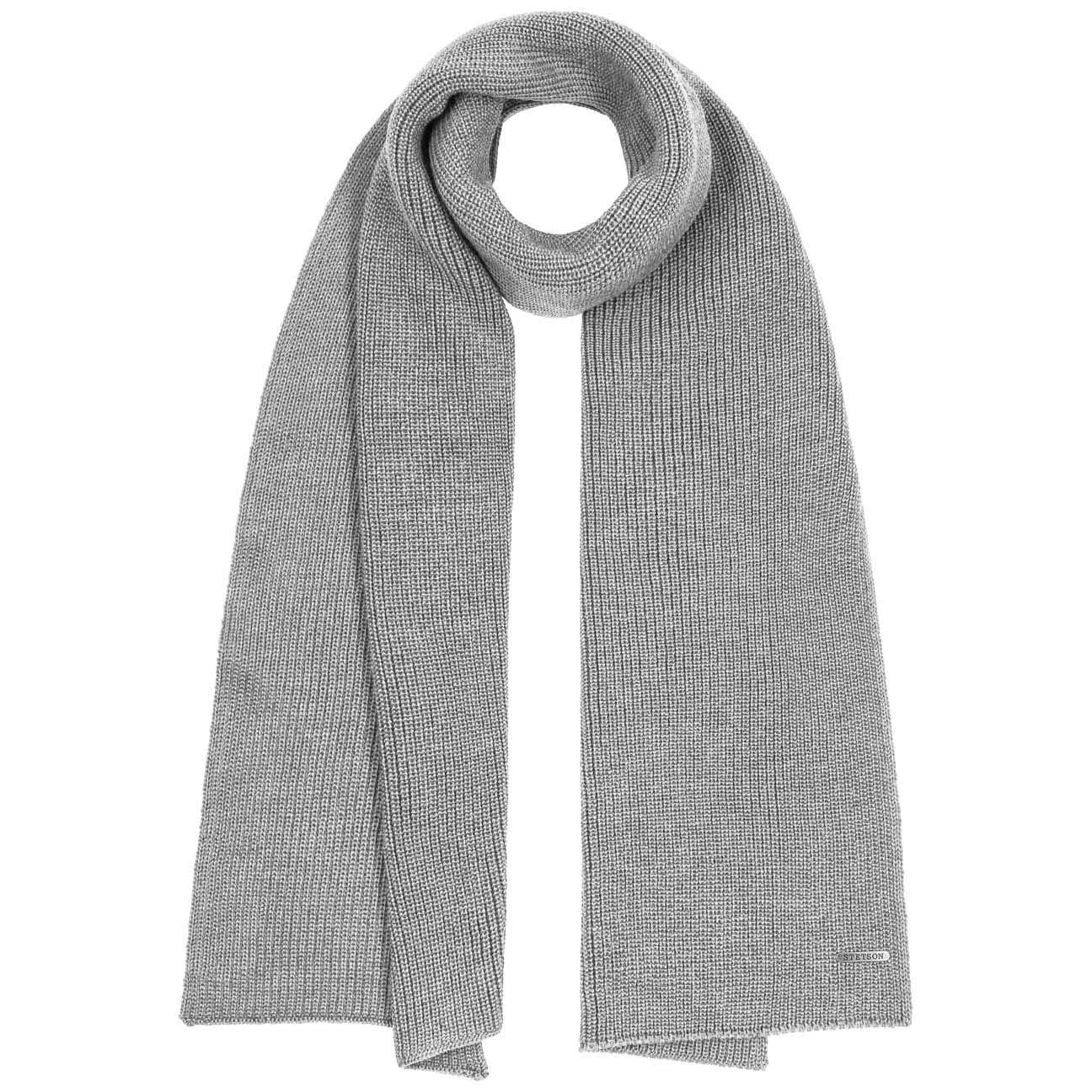 Made in Italy Wollschal Freizeitschal Herbst-Winter Stetson Caledonia Merino Winterschal Damen//Herren