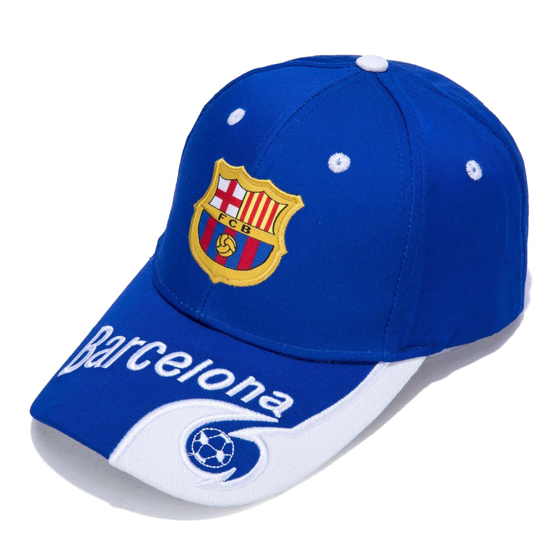 Barcelona F.C. – bordado auténtico EPL ajustable azul Gorra de ...