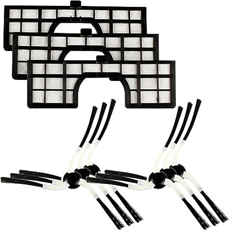Menalux MRK02 - Kit de cepillos y filtros aspirador robot Samsung Navibot: Amazon.es: Hogar