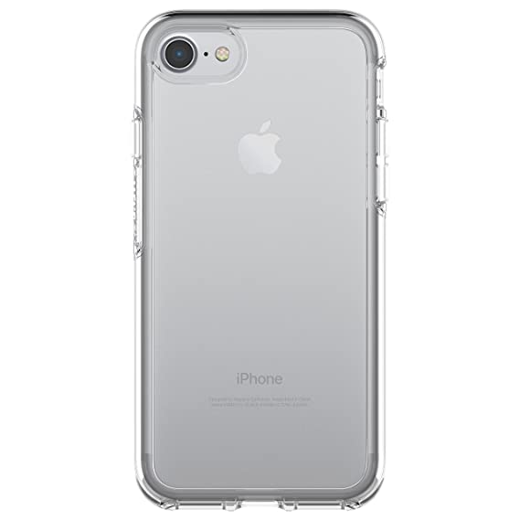 best service 6d68f 0f798 OtterBox SYMMETRY CLEAR SERIES Case for iPhone 8 / 7 (ONLY) - Retail  Packaging - CLEAR (CLEAR/CLEAR)
