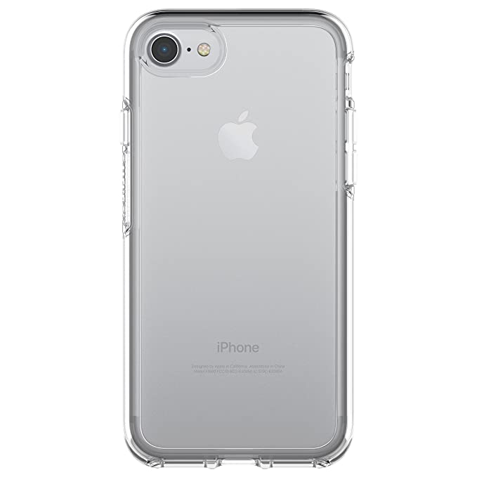 promo code 1cb03 90209 OtterBox SYMMETRY CLEAR SERIES Case for iPhone 8 & iPhone 7 (NOT Plus) -  Retail Packaging - CLEAR