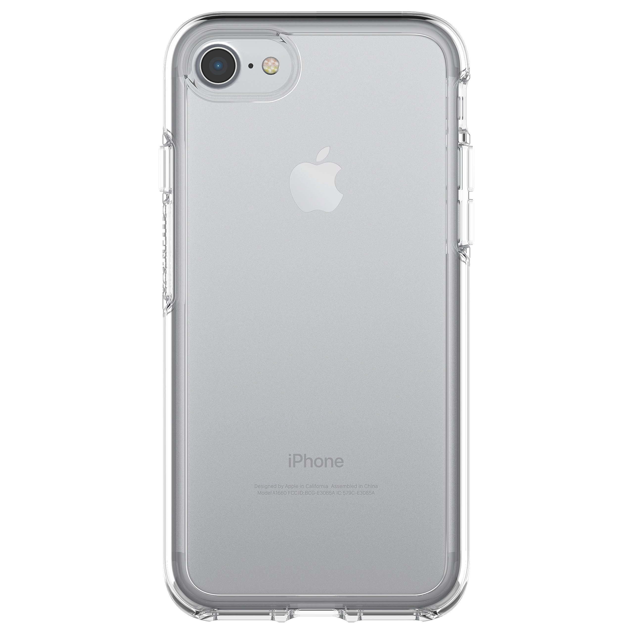 OtterBox SYMMETRY CLEAR SERIES Case for iPhone 8/7 (ONLY) - Retail Packaging - CLEAR (CLEAR/CLEAR) by OtterBox (Image #1)