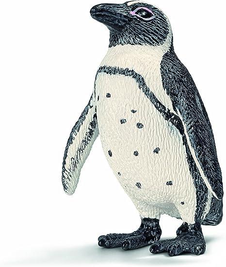 Schleich - Figura pingüino de anteojos (14705): Amazon.es: Juguetes y juegos