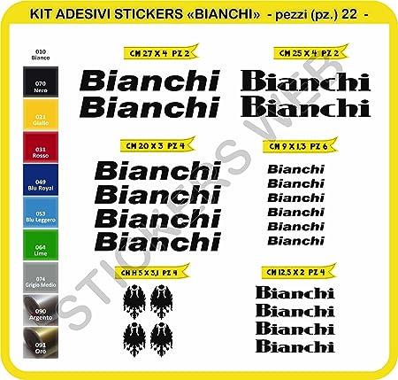 Negro Ecoshirt L6-2ITM-MG3T Pegatinas Bianchi R241 Vinilo Adesivi Decal Aufkleber Клей MTB Stickers Bike