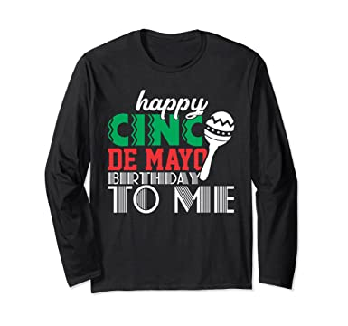 Unisex May Birthday Shirts Cinco De Mayo 5th Funny Adult Kids Small Black