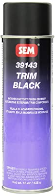 SEM 39143 Trim Black Aerosol