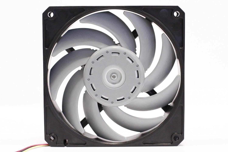 Scythe D1225C12B5AP-15 - Ventilador de PC (Carcasa del Ordenador, Ventilador, 28 dB, Negro, Gris, 0,083 A, 120 x 120 x 25 mm)