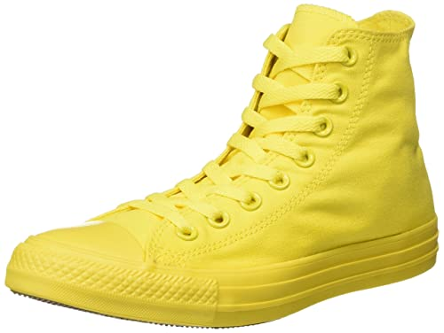 Converse Zapatillas Abotinadas All Star Hi Amarillo EU 37