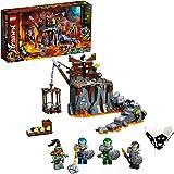 LEGO NINJAGO Journey to The Skull Dungeons 71717 Ninja Playset Building Toy for Kids Featuring Ninja Action Figures, New 2020