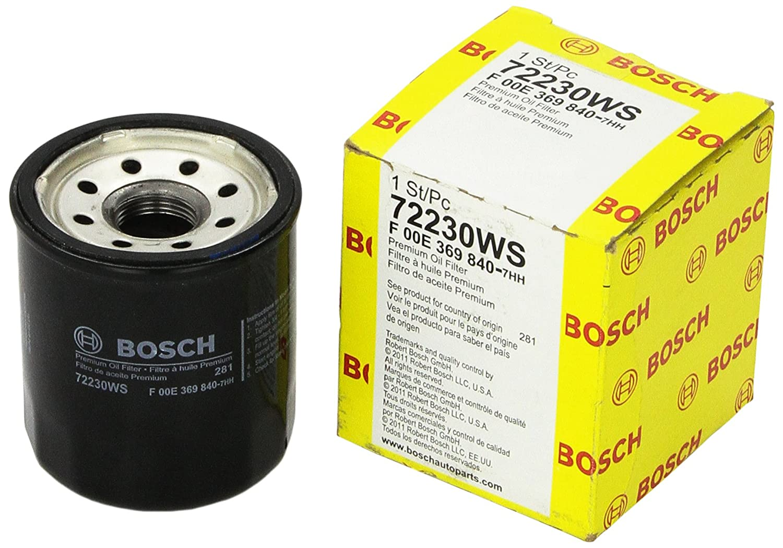 F00E369840 Workshop Engine Oil Filter Bosch 72230WS
