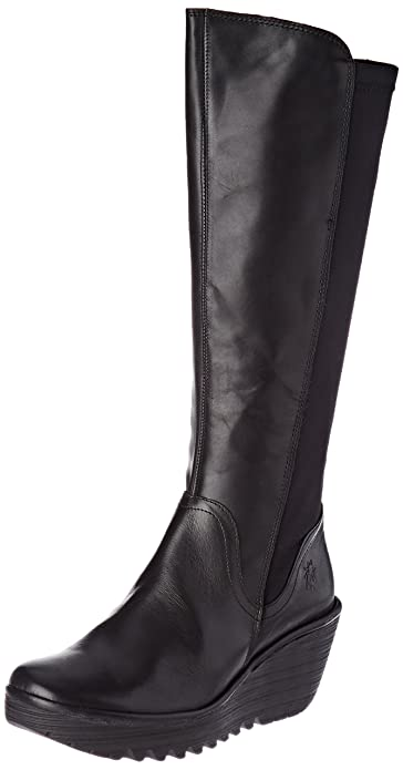 11b2dcbb2ebfe1 Fly London Damen Yeve779fly Stiefel Schwarz  Amazon.de  Schuhe ...