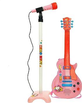 CLAUDIO REIG- Hello Kitty Conjunto Guitarra y micrófono con pie ...