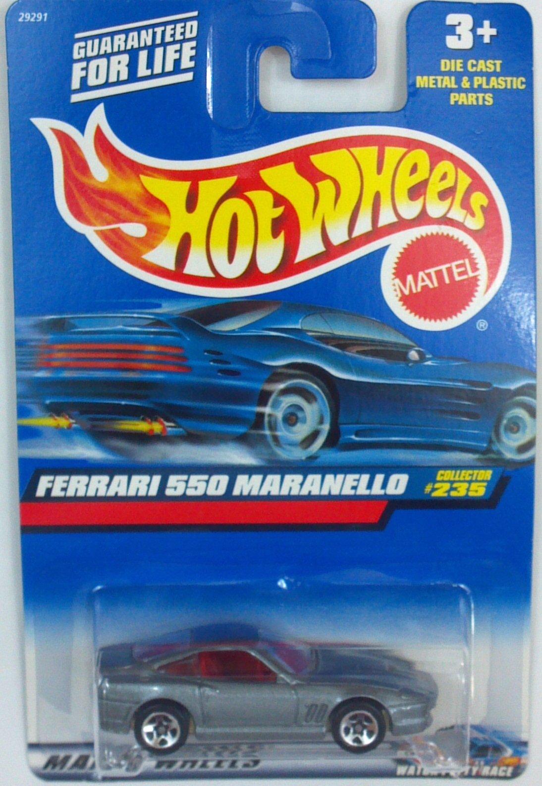 Hot Wheels Ferrari 550 Maranello #235 Year: 2000