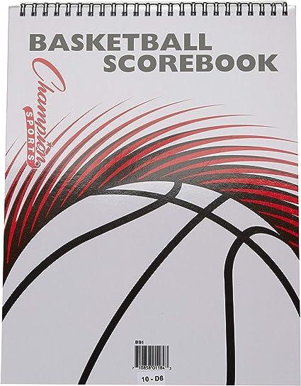 Amazon.com: Champion Sports - Cuaderno de puntuación para ...