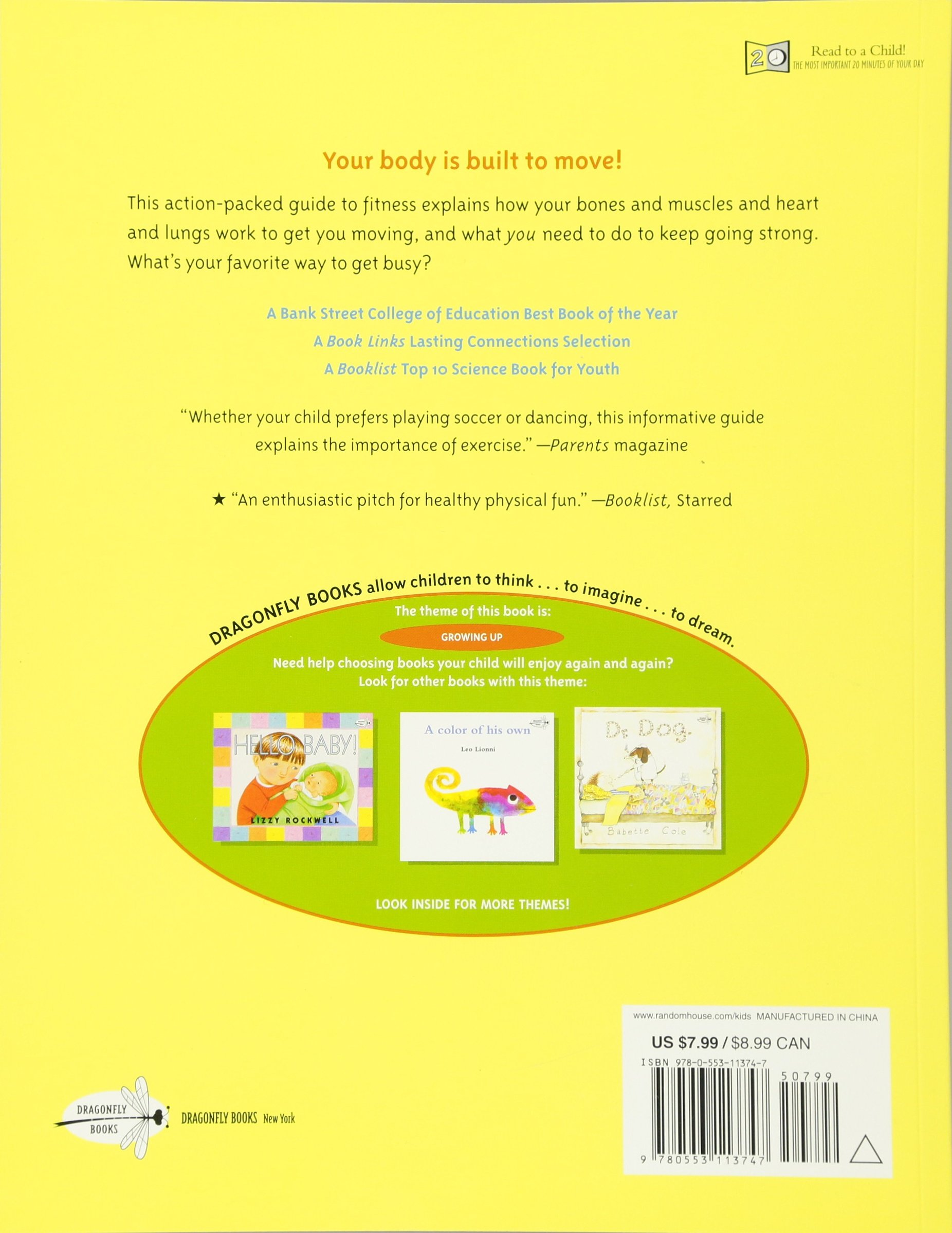 The Busy Body Book A Kids Guide to Fitness Lizzy Rockwell