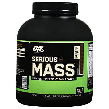 Optimum Nutrition Serious Mass Weight Gainer Protein Powder - best weight gainer for skinny guys