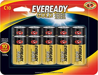 product image for Eveready C Cell Alkaline Batteries, Gold (10 Count)