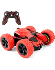 Electric RC Stunt Car 2WD Off Road Remote Control Vehicle 2.4GHz Racing Vehicle High Speed 7.5MPH 360 Degree Rolling Rotating Rotation(Battery Not Included)