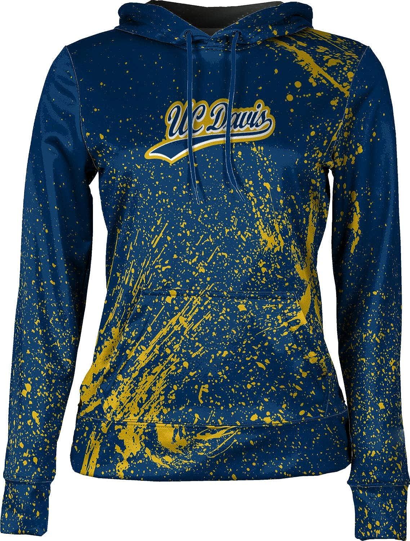 Splatter ProSphere University of California Davis Girls Pullover Hoodie School Spirit Sweatshirt