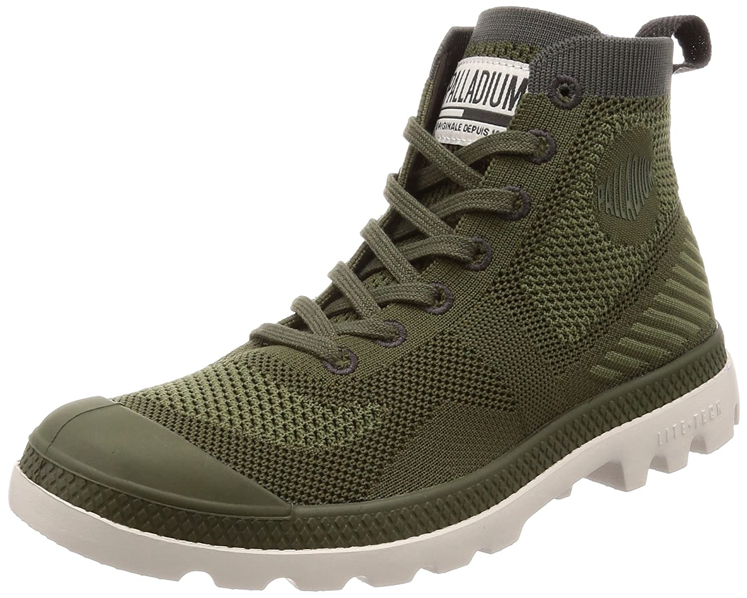 Palladium Pampa Hi Lite K Ankle Boot B074B942TY 9.5 M US|Green-338