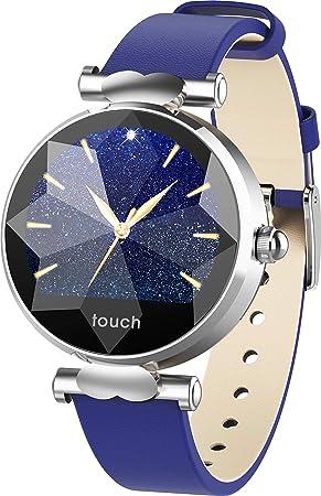 Reloj Inteligente para Mujer Chicas, Bluetooth Smartwatch con ...