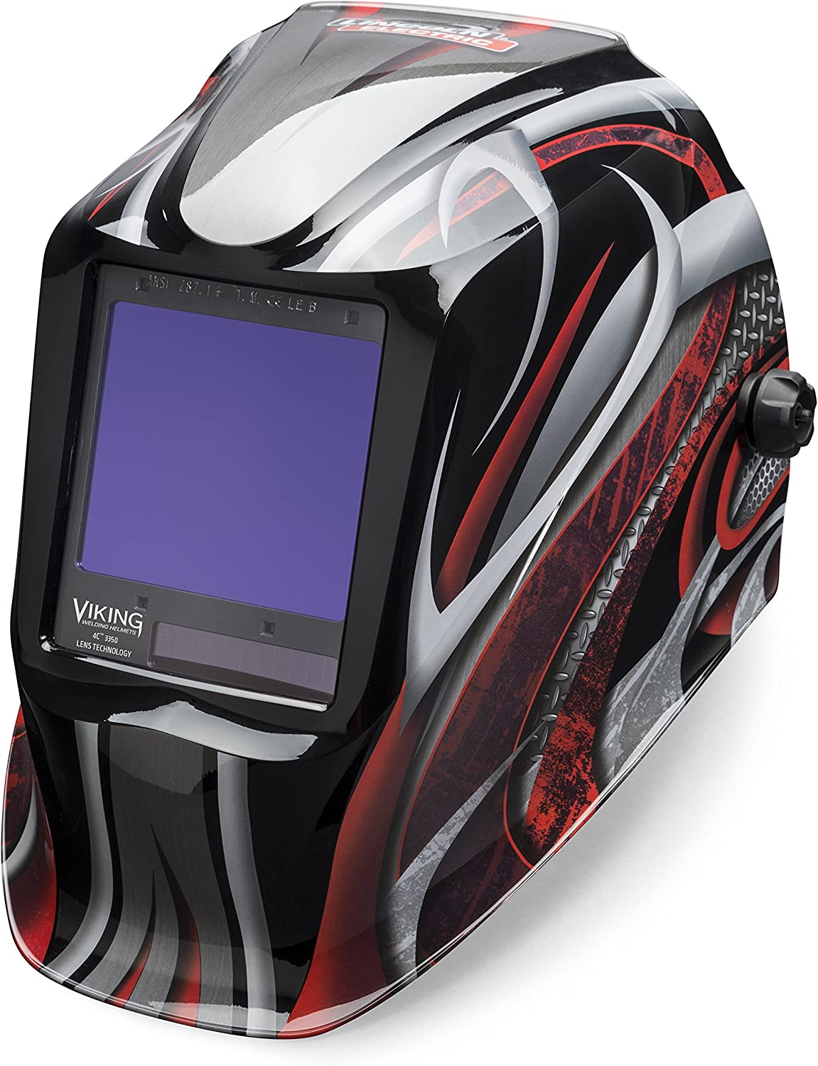 Welding Helmet, Twisted Metal Graphic