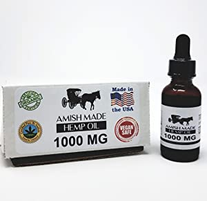 1500mg All-Natural Hemp Oil Drops – Reduces Stress and Anxiety – Pain Relief, Healthier Skin and Hair – GMP Seal, Made in USA – Premium Quality Ingredients