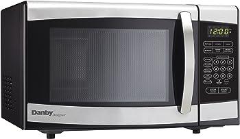 Danby Designer 0.7 cu.ft. Countertop Stainless Steel Microwave