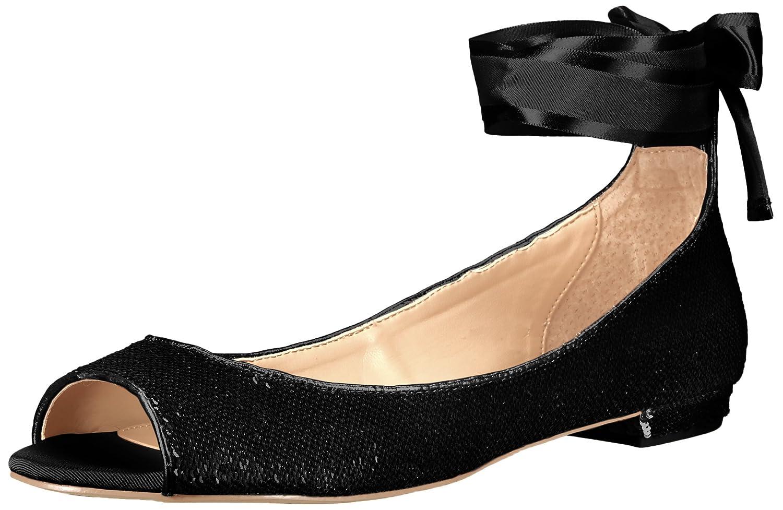 Badgley Mischka Jewel Women's Lorde Ballet Flat B06X41KND6 7.5 B(M) US|Black
