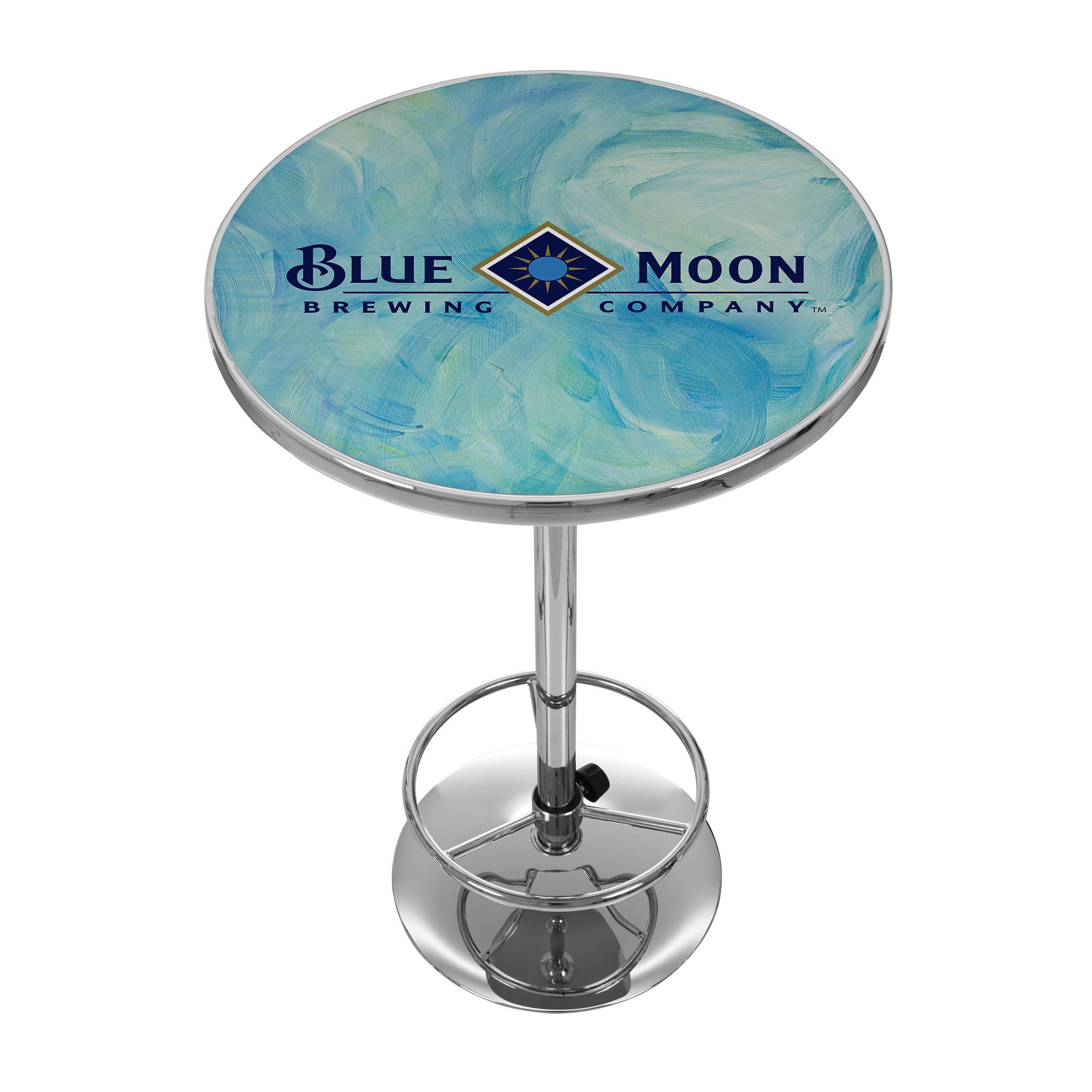 Blue Moon Chrome Pub Table